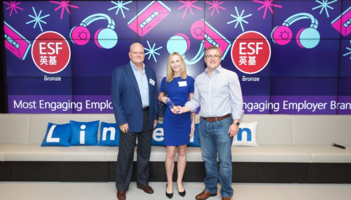 ESF wins LinkedIn Bronze award for Most Engaging Employer Brand