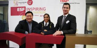 ESF TEDx: Inspiring Innovation was successfully held on 22 November 2017 at ESF King George V School.