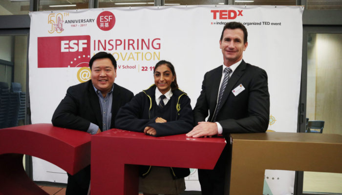 ESF TEDx: Inspiring Innovation was successfully held on 22 November 2017 at ESF King George V School.