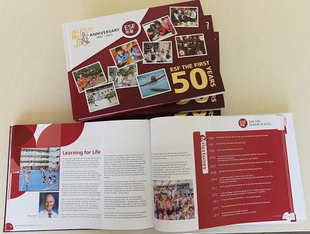 ESF 50th Anniversary Commemorative Book