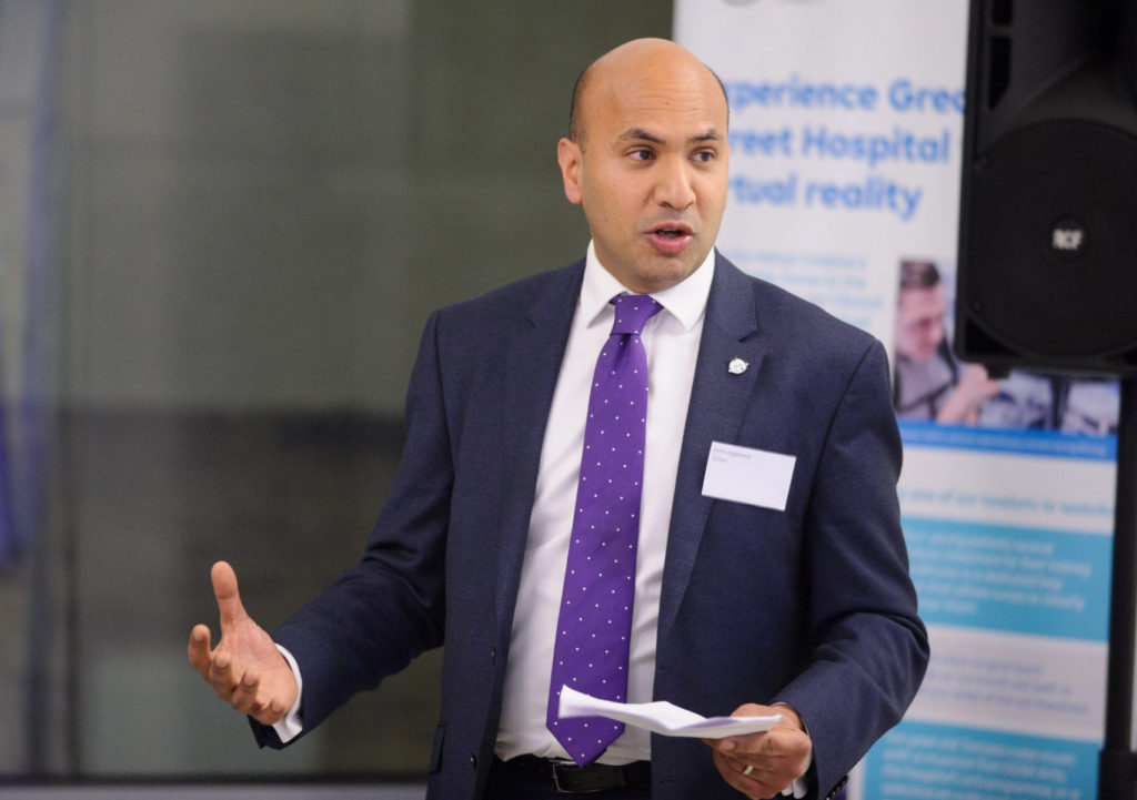 Amit Aggarwal (ESF South Island School) Director of Corporate Partnerships, Great Ormond Street Hospital Children's Charity