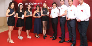 Nine selected awardees shared their stories at the ESF Chairman's Award of Excellence 2018 press conference.