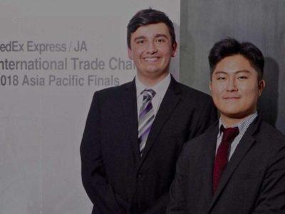 WIS Alumni at JA FedEx International Challenge