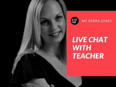 Live Chat with Ms Jones