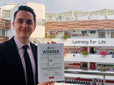 ESF Teacher Wins International Award for Innovation