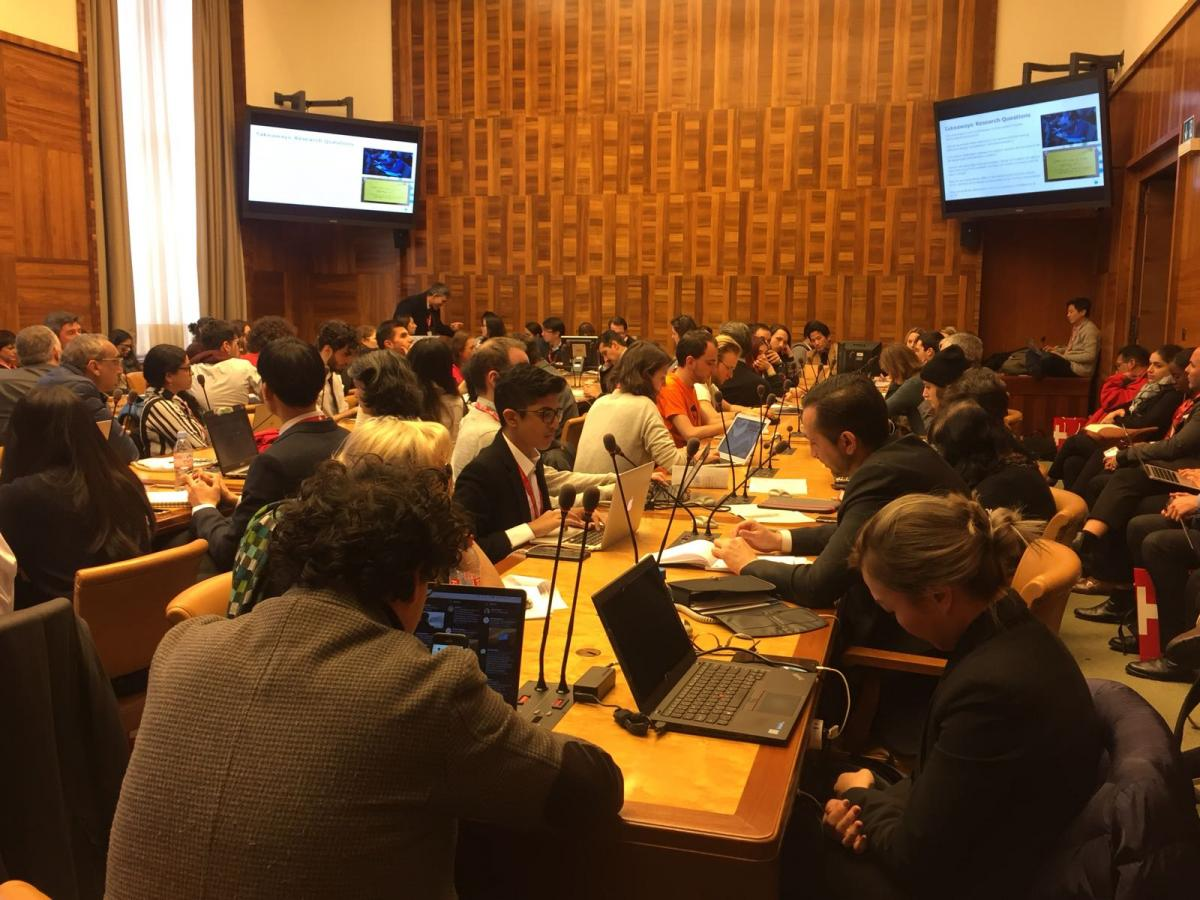 The United Nations Internet Governance Forum in Geneva.